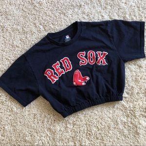 Red Sox crop top
